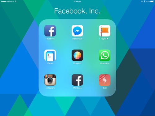 Key Reasons Why Facebook Didn't Need To Unbundle It's Apps